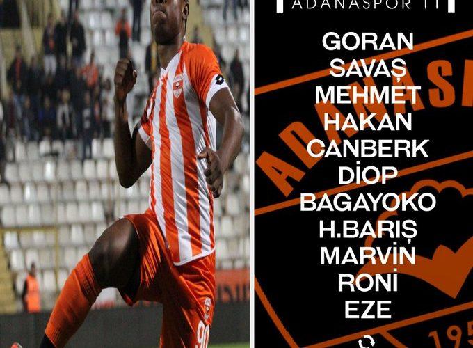 Adanaspor 11'i